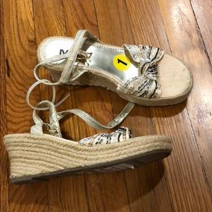 Other - NEW girls Strappy sandal wedge espadrilles